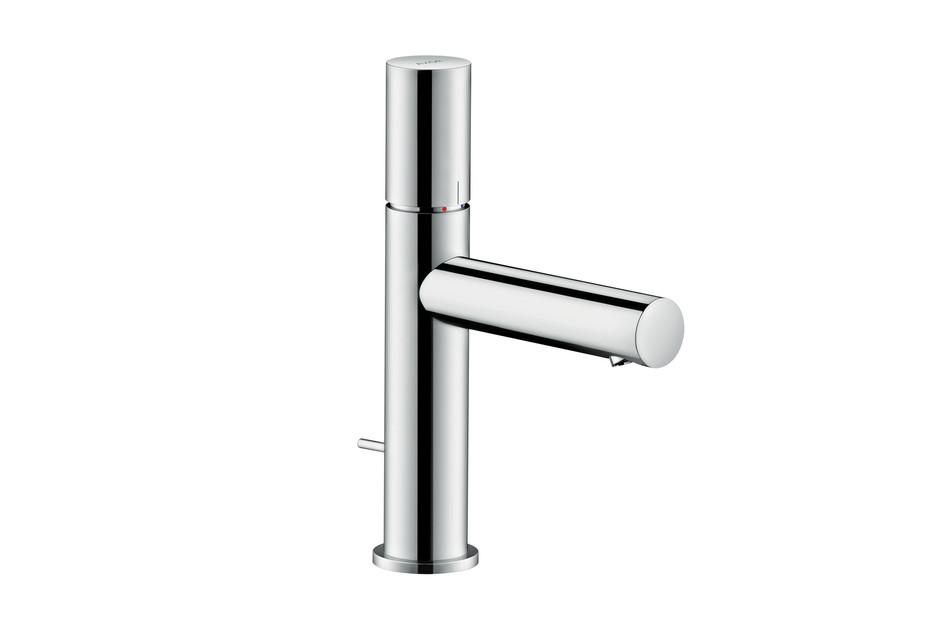 Axor Uno Single lever basin mixer 110, zero handle, with pop-up waste set