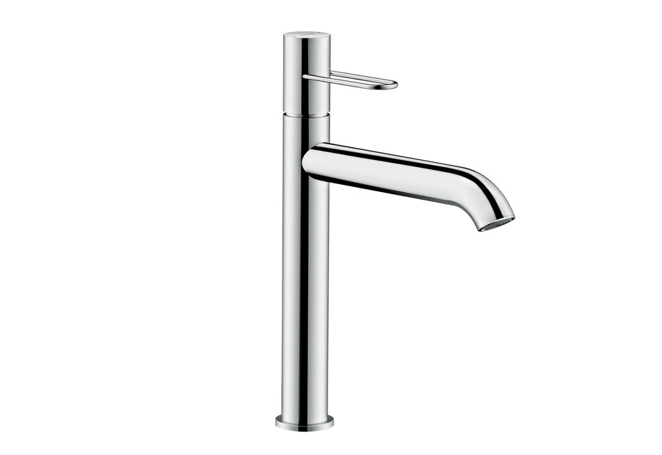 Axor Uno Single lever basin mixer 190, loop handle, without pull-rod