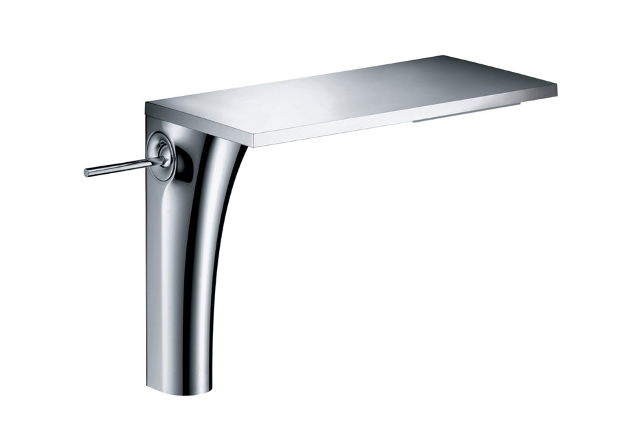 Axor Massaud Single lever basin mixer 220 without pull-rod for wash bowls
