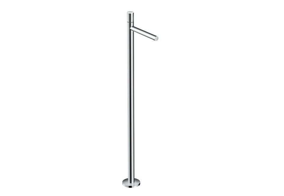 Axor Uno Single lever basin mixer floor-standing, zero handle, without waste set