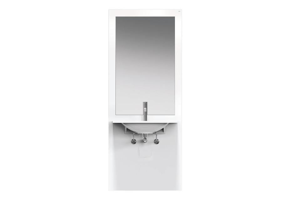 Washbasin module White, washbasin M40.11.101