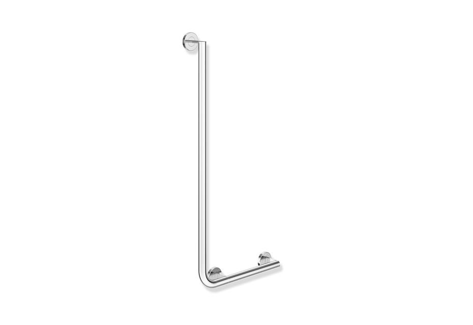 L-shaped support rail chrome