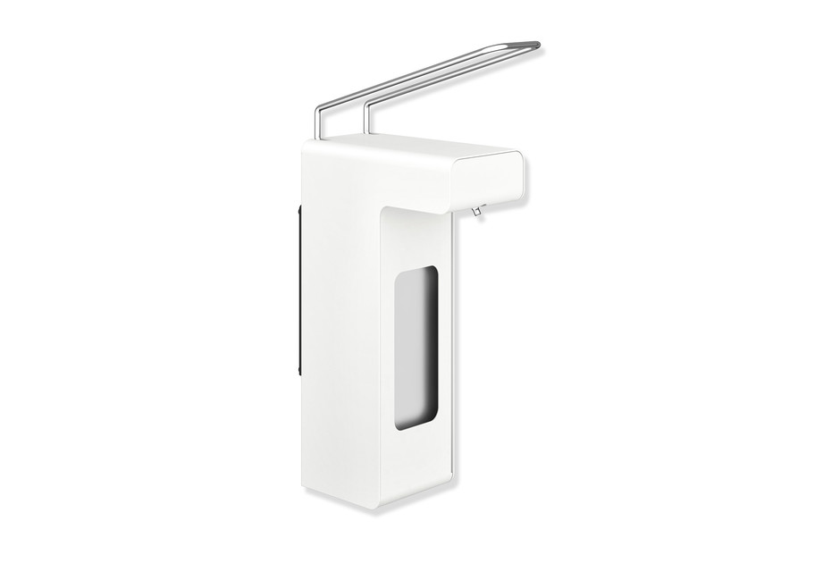 Disinfectant or soap dispenser