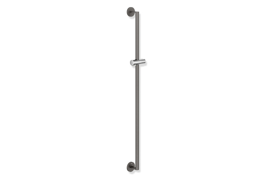 Rail with shower head holder