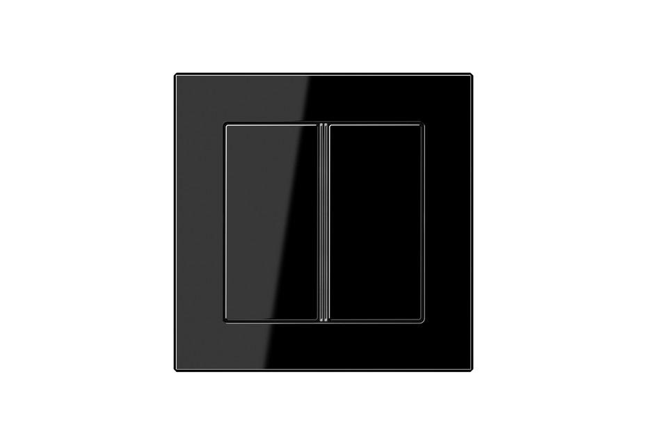 A Creation F40 Tastsensor 2fach in schwarz