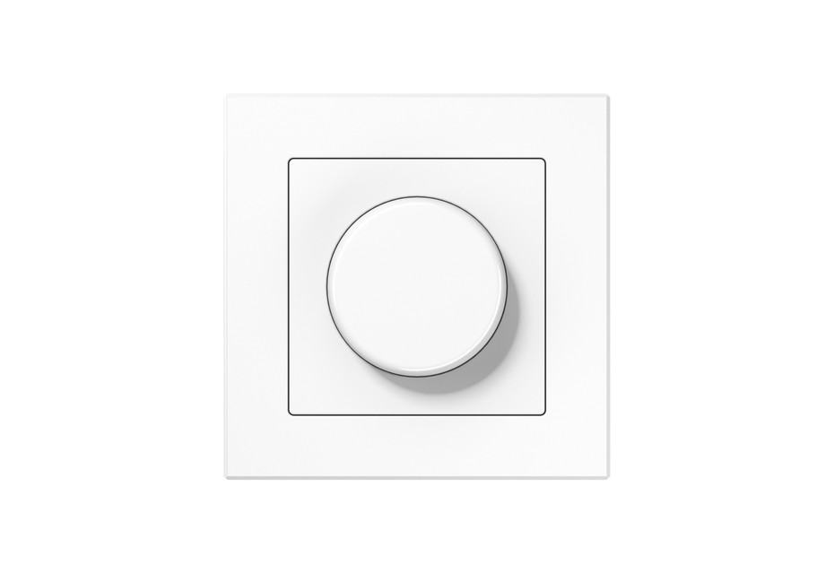 A Creation Rotary Dimmer in white