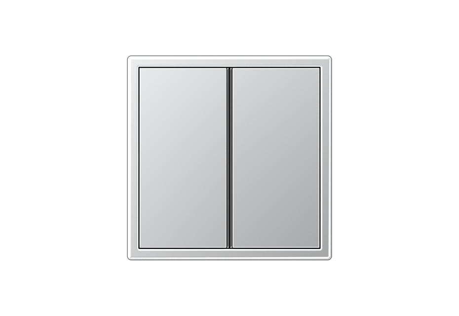 LS 990 F40 Tastsensor 2fach in aluminium