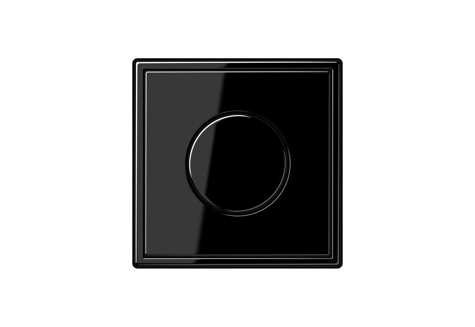 LS 990 Drehdimmer in schwarz