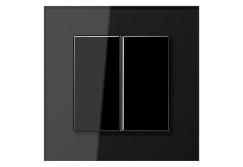 LS Plus F40 Tastsensor 2fach in schwarz