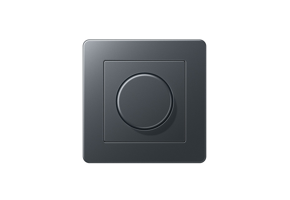 A Flow Rotary Dimmer anthracite