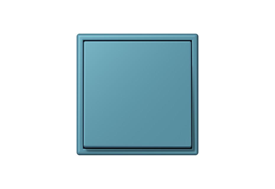 LS 990 in Les Couleurs® Le Corbusier Schalter in Das leuchtende Coelinblau