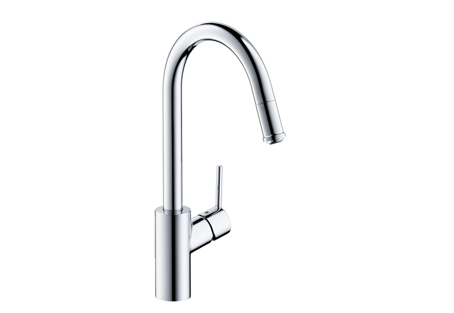 M52 M5214-H260 single lever kitchen mixer 260 with pull-out spout