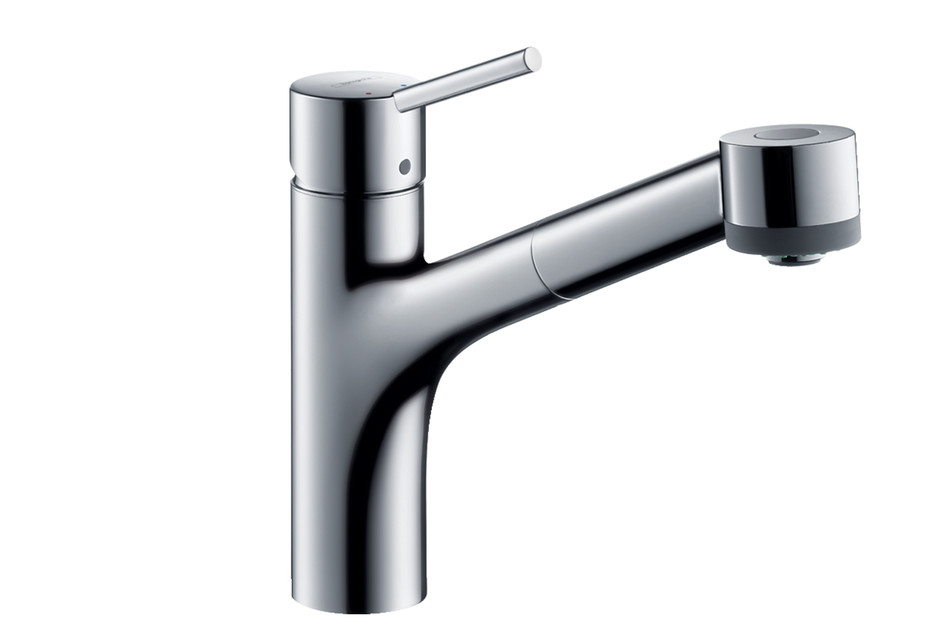 M52 M5216-H170 single lever kitchen mixer 170 with pull-out spray