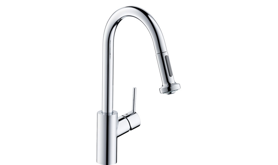 M52 M5216-H220 single lever kitchen mixer 220 with pull-out spray