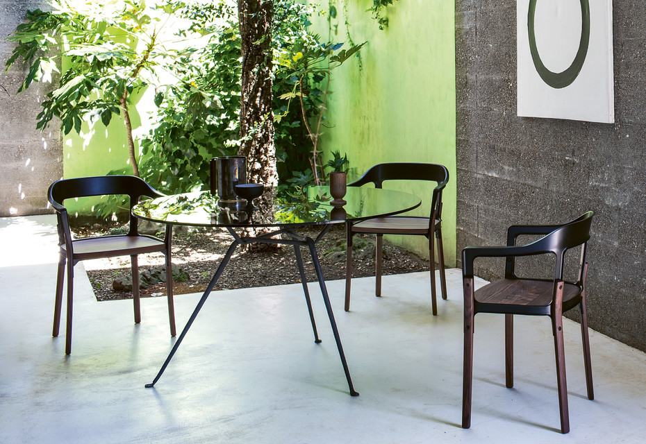 OFFICINA chair steelwood