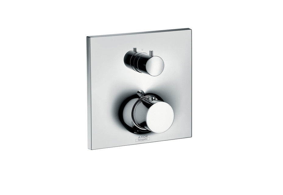 Axor Massaud Thermostatic mixer for concealed installation with shut-off valve