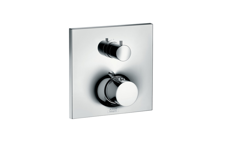 Axor Massaud Thermostatic mixer for concealed installation with shut-off/diverter valve