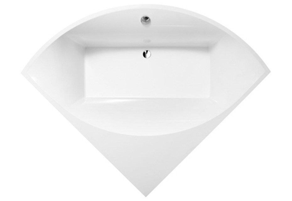 Corner bath Squaro