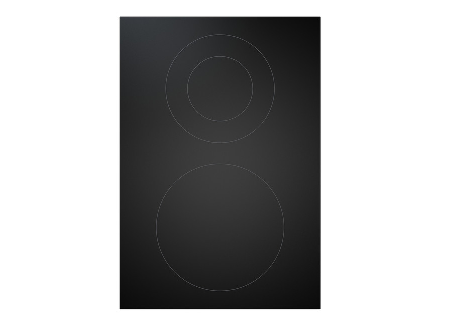 BORA Professional 2.0 Hyper-Glaskeramik-Kochfeld mit 2 Kochzonen 1-Kreis/2-Kreis