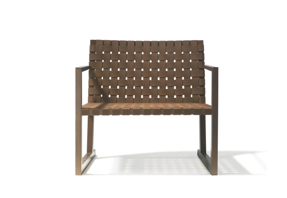 Serena armchair with armrests