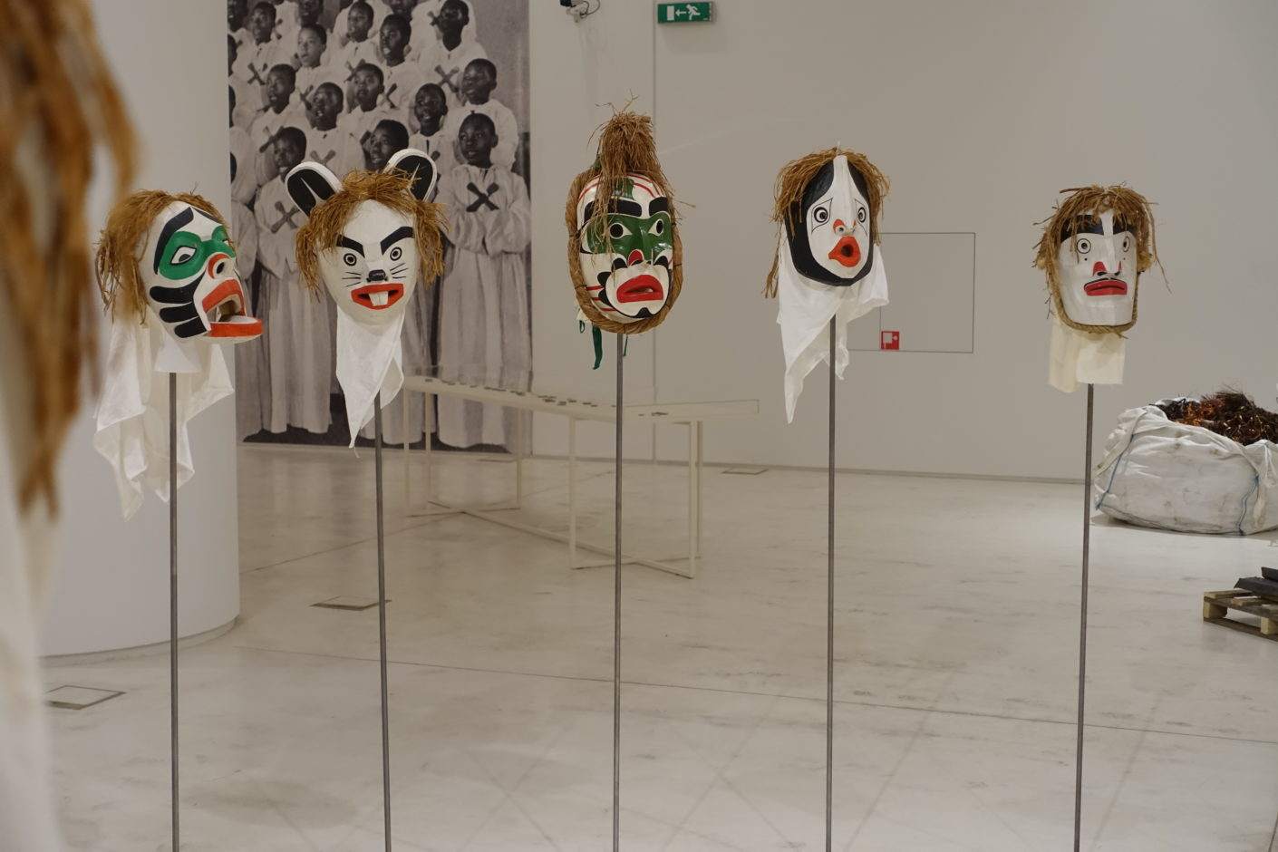 Masks by-Beau-Dick-Documenta-14-Athens