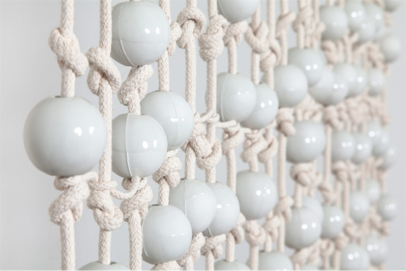 Knots And Beads Curtain, Hella Jongerius Courtesy Galerie Kreo
