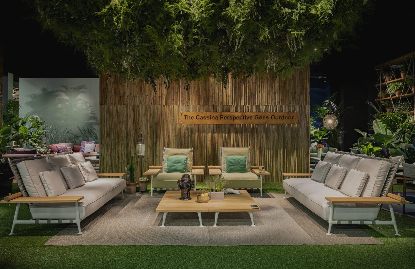 Cassina Imm Cologne 2020 Fenc E Nature Philippe Starck Cassina Outdoor Collection Stylepark