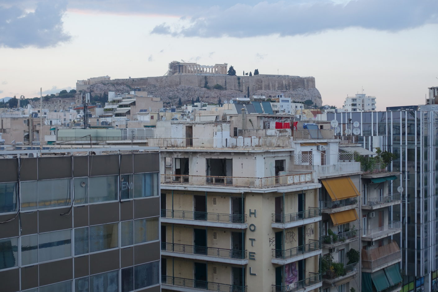 Athens with Acropolis