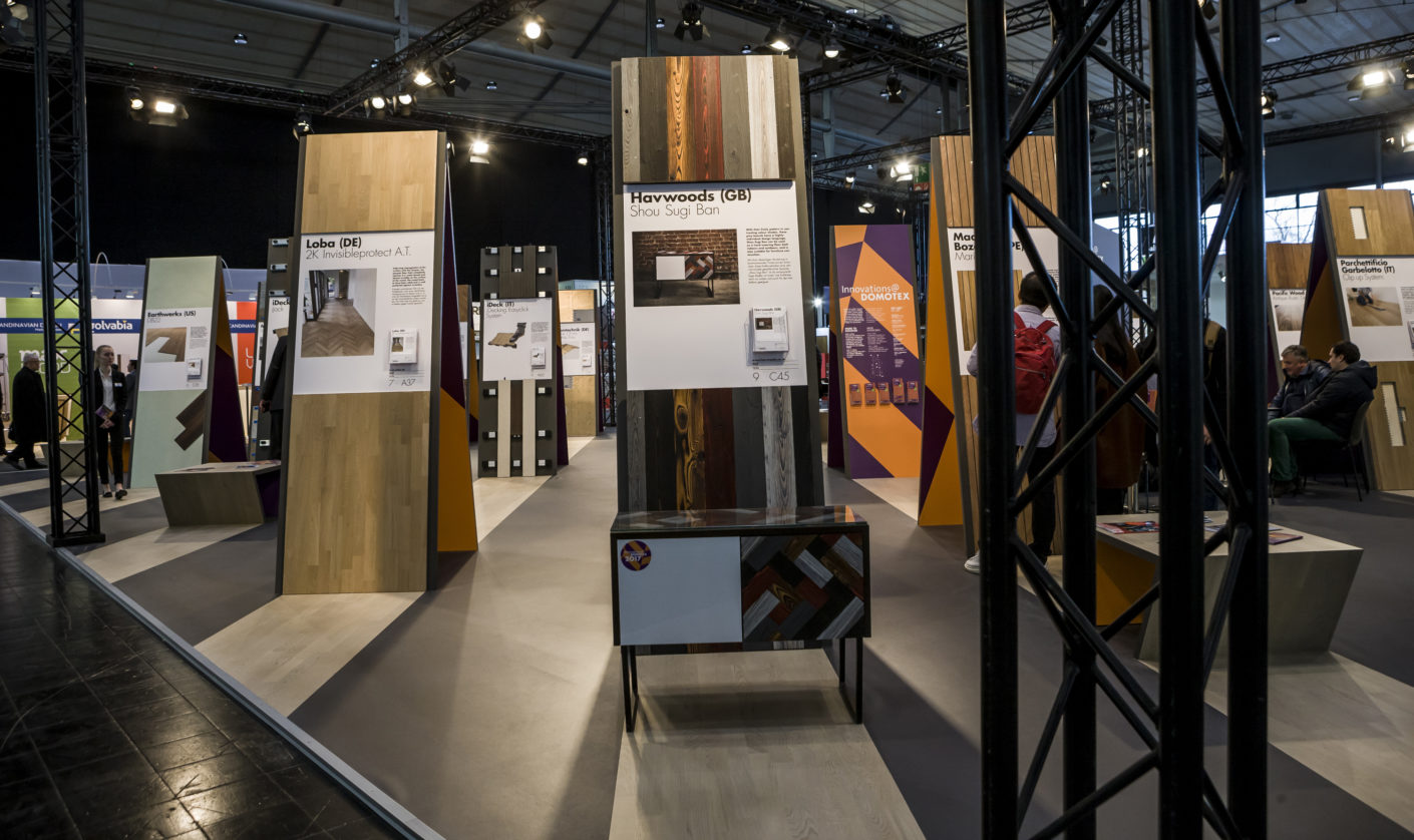 Harwoods Stand Domotex 2017