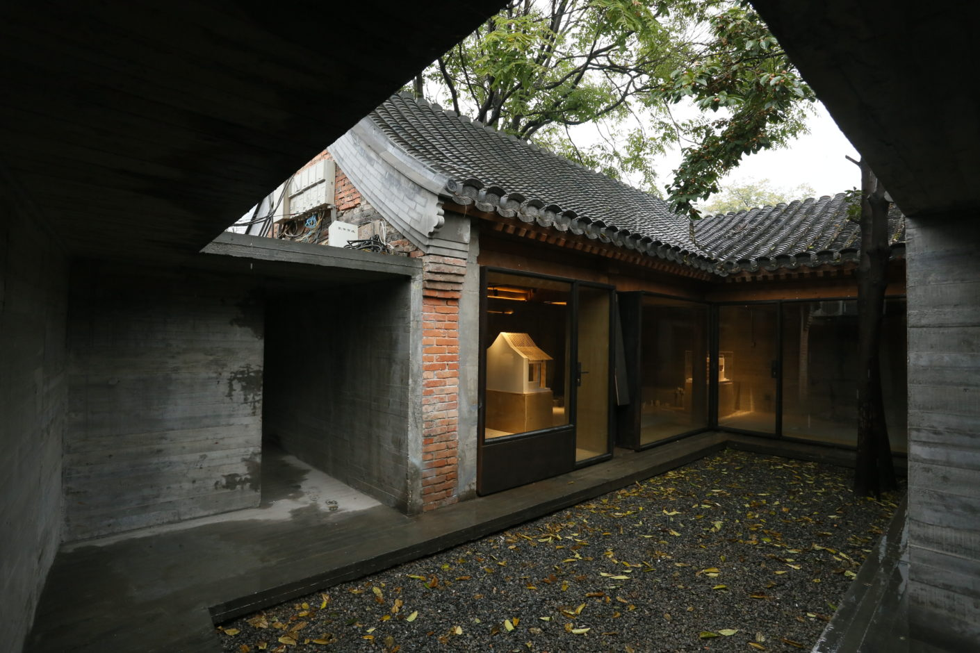 Co Living Courtyard by Zhang Ke, Standardarchitecture, in Baitasi Hutong, Beijing, for the Beijing Design Week 2016