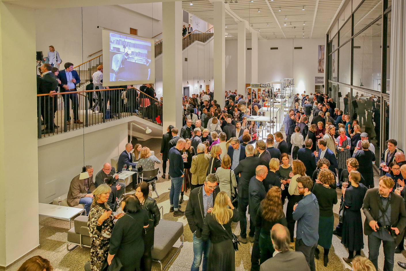 Image Gallery Stylepark and FAZ reception on the occasion imm cologne 2019
