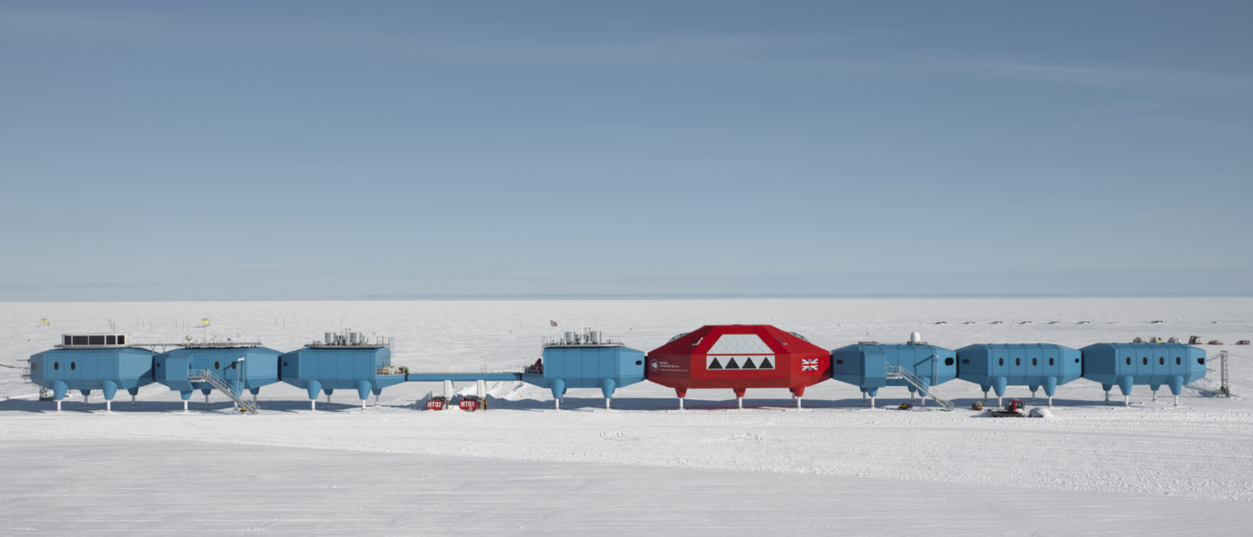 "Britische Polar Station  ""Halley VI"""