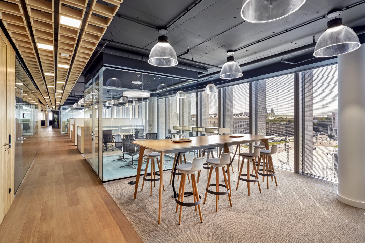 Bene, Office Furniture CCC HQ in Warsaw, Stylepark