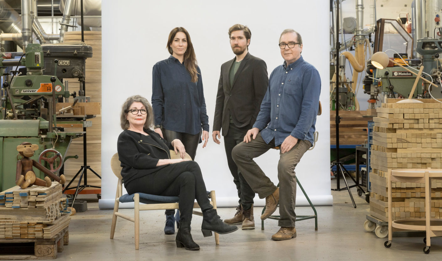 Family ties: The siblings Julie and Jonas Krüger lead the traditional company into the next generation.