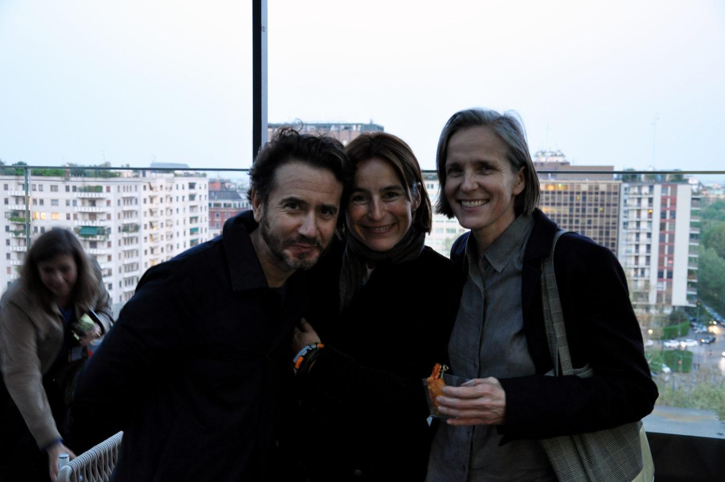 Fabio Azzolina, Lorenza Marengo, Catharina Lorenz , Gloster Cocktail, Salone 2017