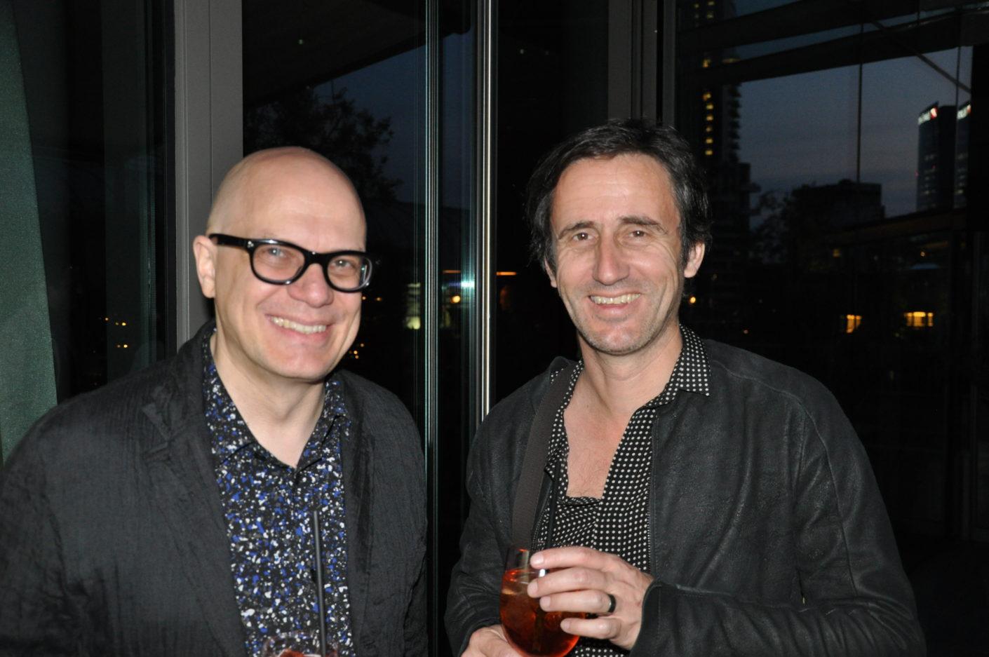 Peter Ippolito und Gunter Fleitz, Gloster Cocktail, Salone 2017