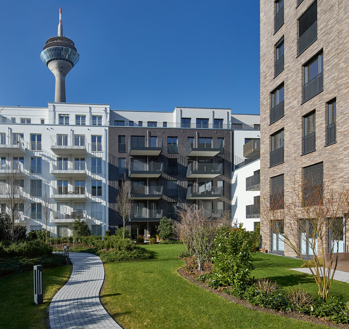 A central location that nevertheless offers quiet living: The new NeMo residential complex in Düsseldorf ideally combines these requirements.