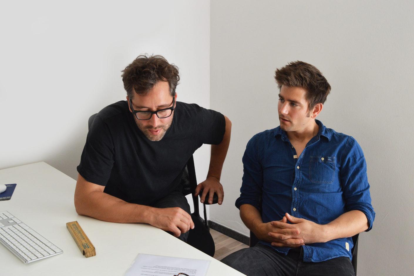 Die Designer von Kaschkasch: Florian Kallus und Sebastian Schneider