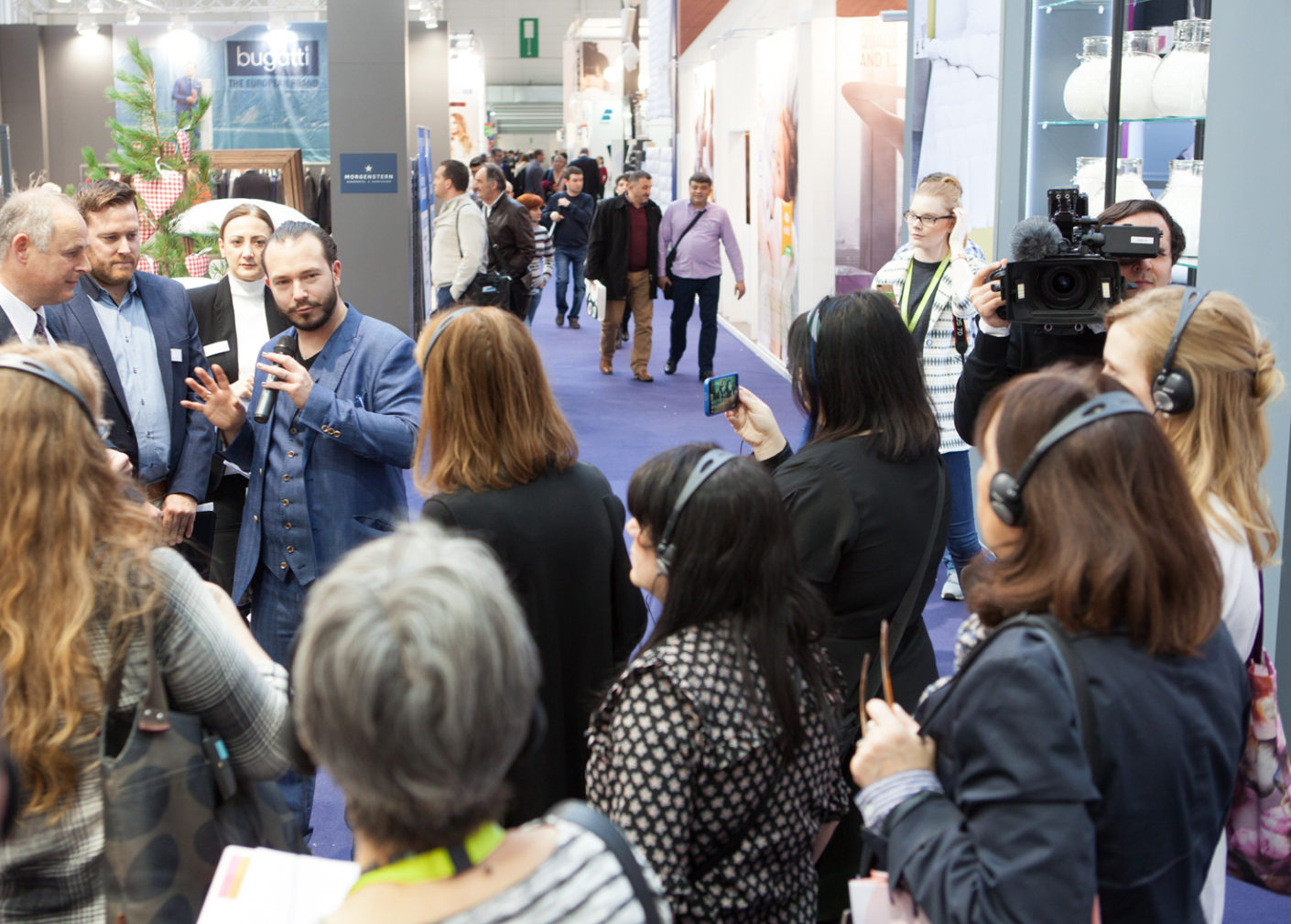 In Frankfurt am Main, Heimtextil once again offers specialist lectures, presentations, competitions, evening events and expert tours as an international platform for textile trends.