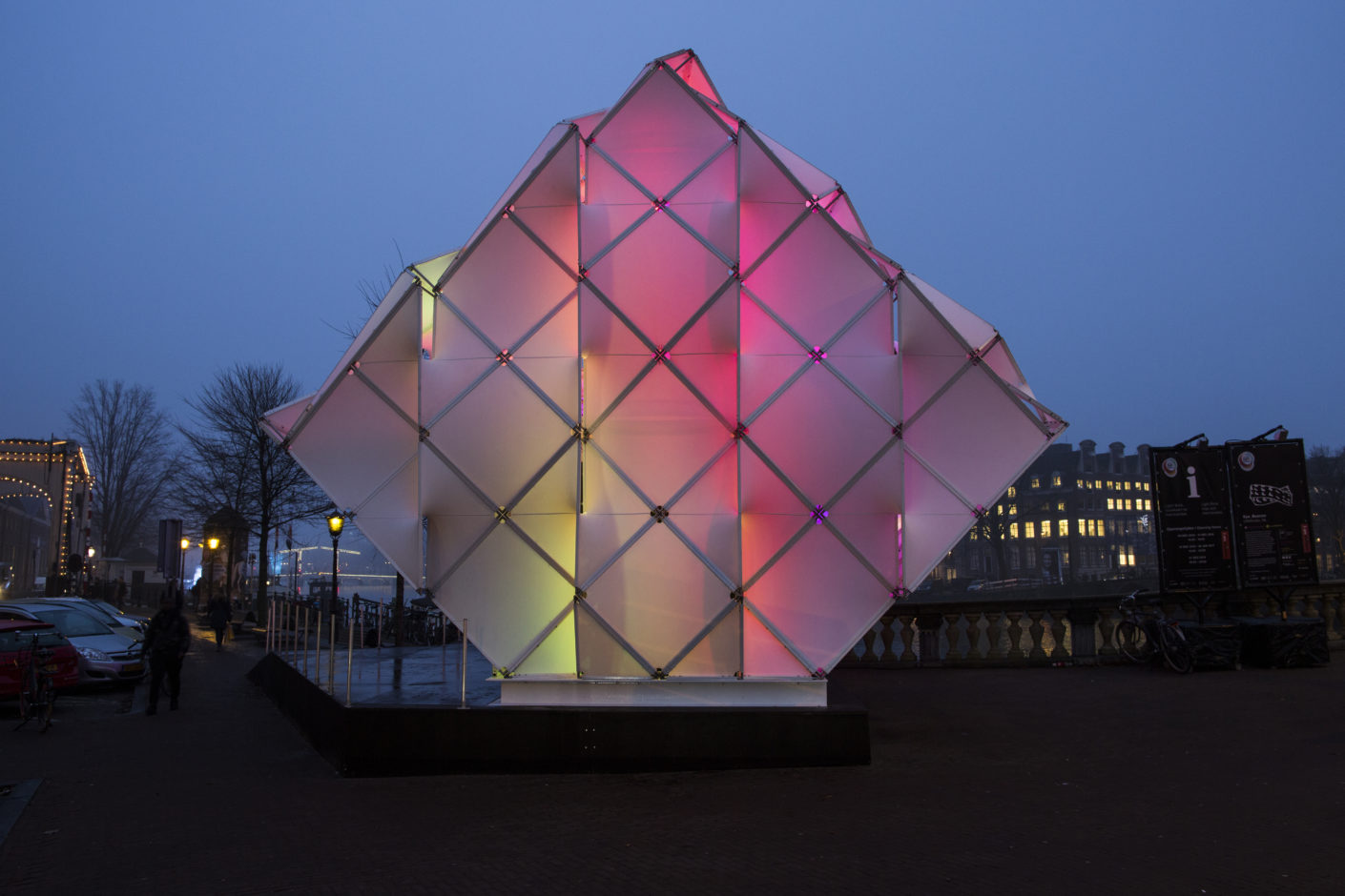 Eye_Beacon Pavillon Amsterdam 2016, UNStudio, MDT-Tex