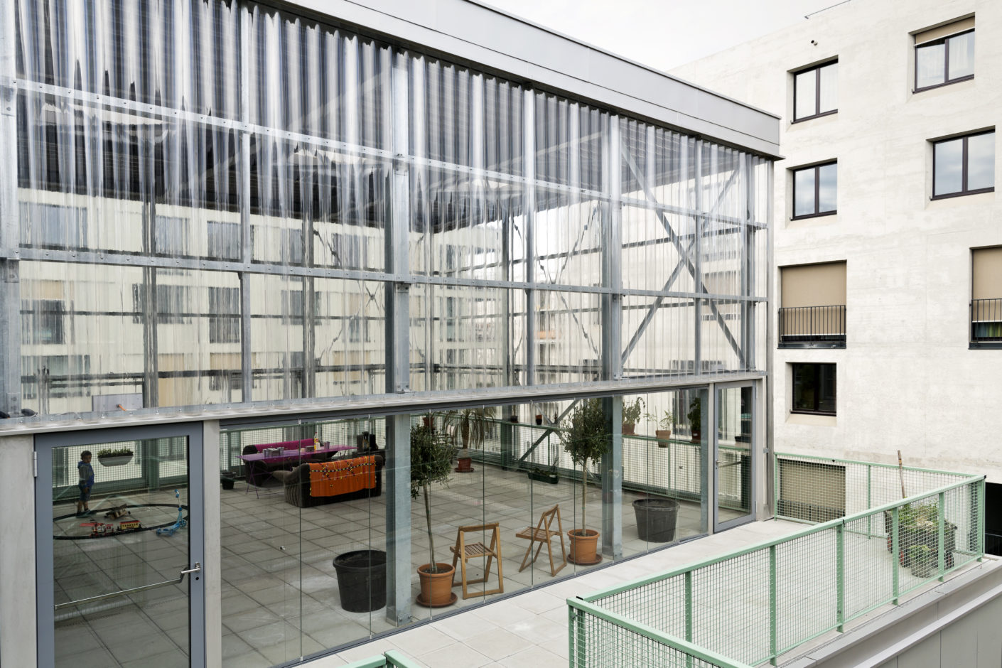 Community room House j cooperative settlement Mehr als Wohnen Zurich Pool architects Z