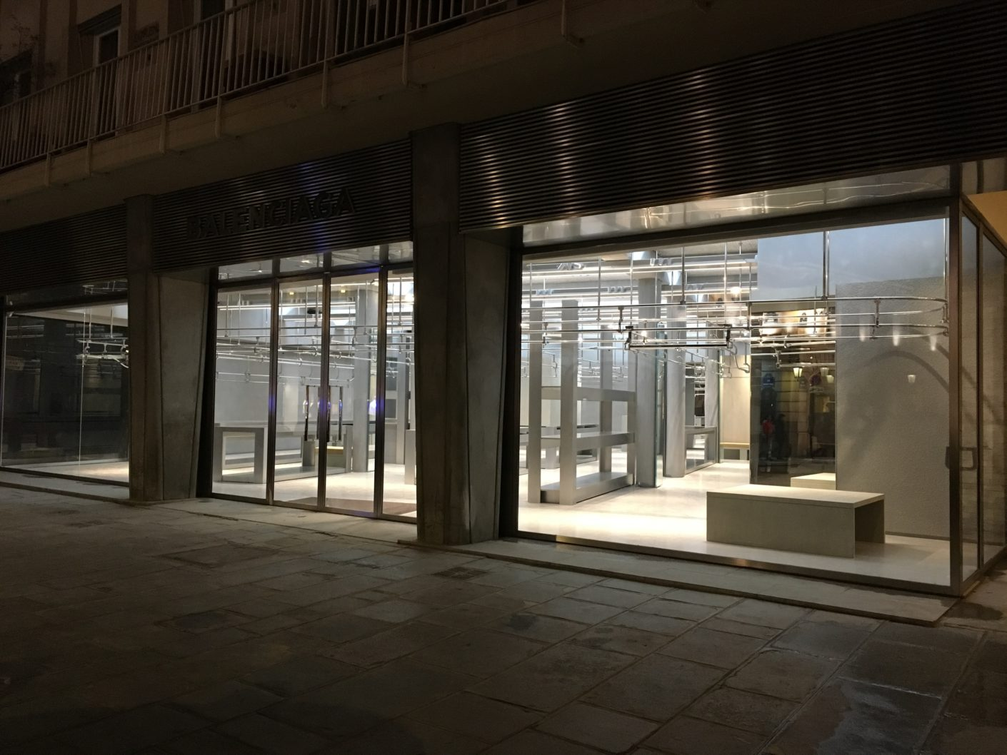 Gonzalez Haase, Balenciaga-Store, Paris