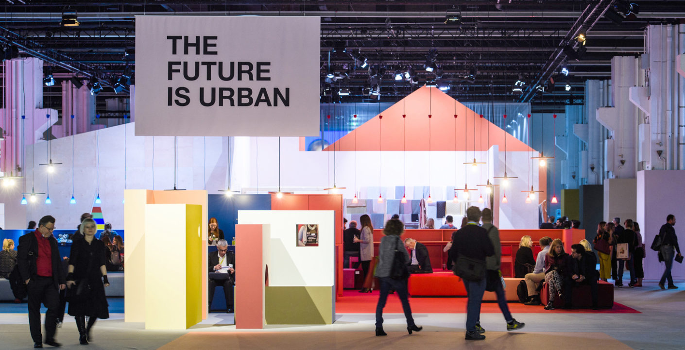 The Theme Park at the Heimtextil showed us how to get the maximum out of a minimal amount of living space despite the progressive urbanisation.