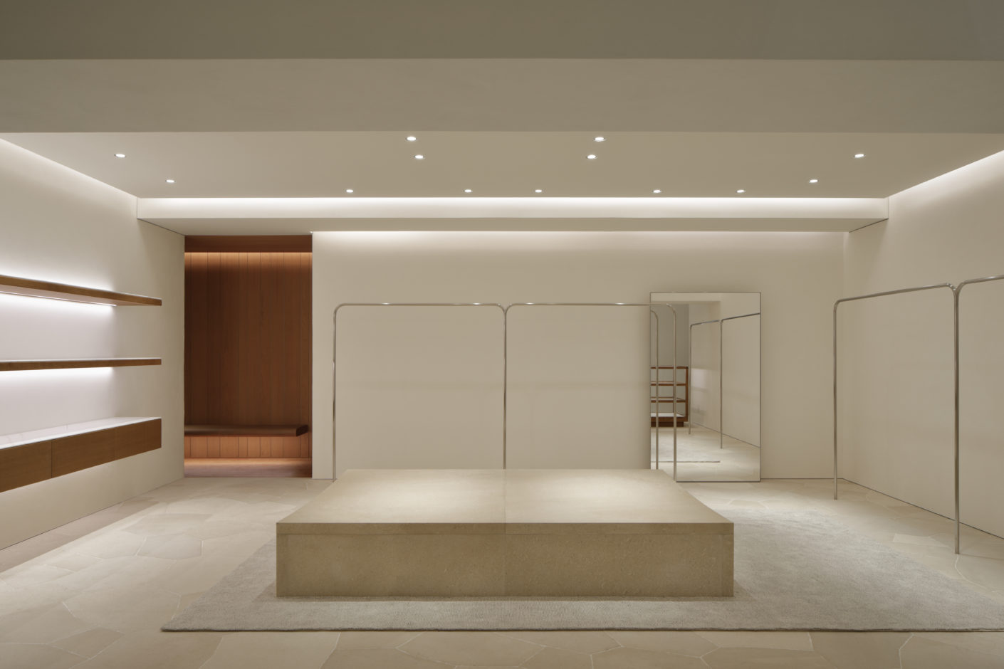 Jil Sander John Pawson Tokio Omotesando Lower Ground 1