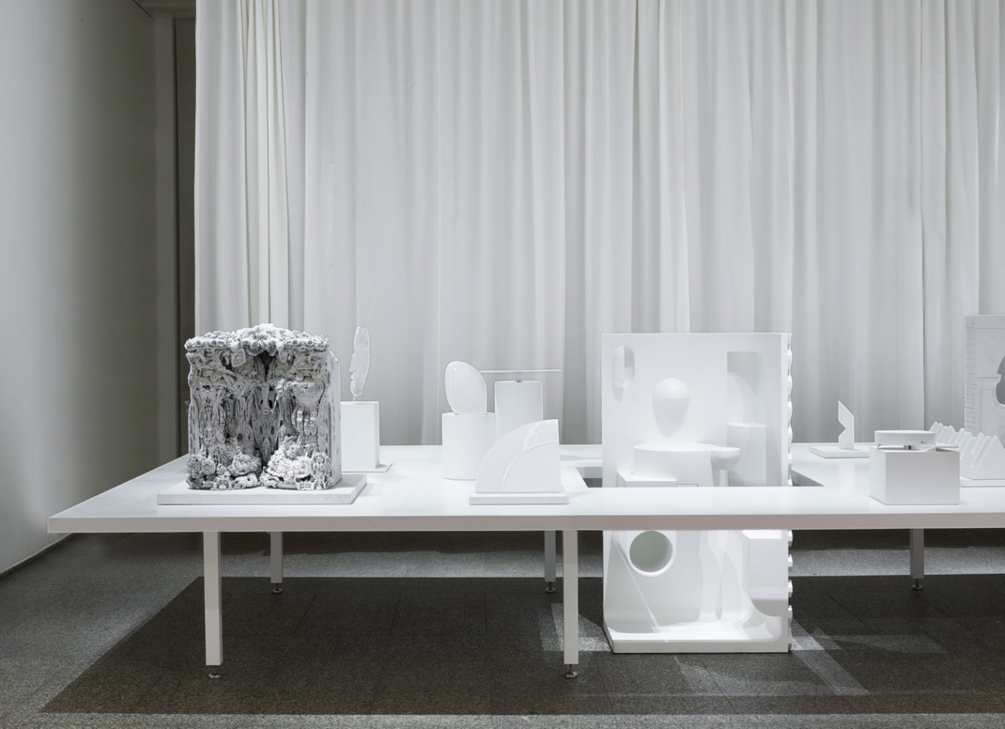 "For the 125th Birthday Laufen presented in ""A Curated Art Show. What?"" the core points of the company - translated into sculptures by well-known designers and architects."