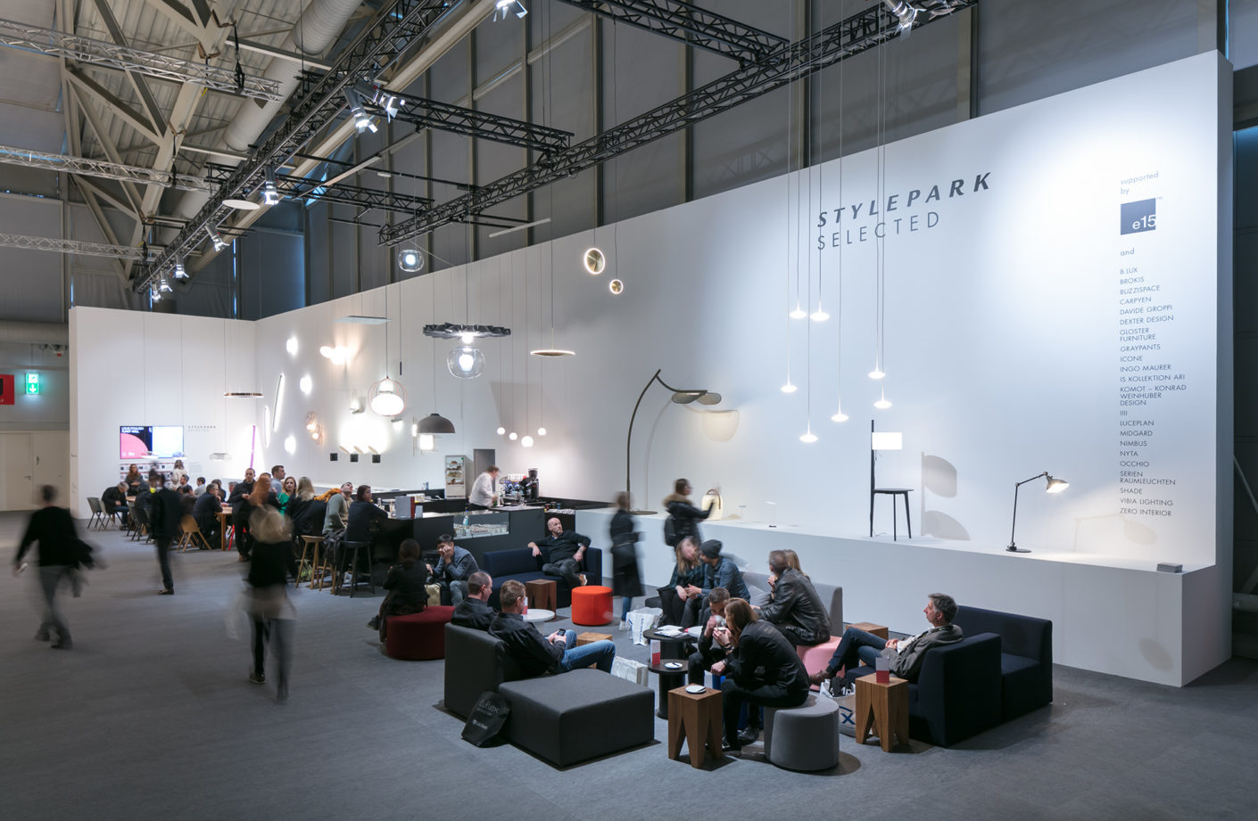 Light + Building 2018, Stylepark Selected Stand Halle 1.2, Foto Constatin Meyer, 01