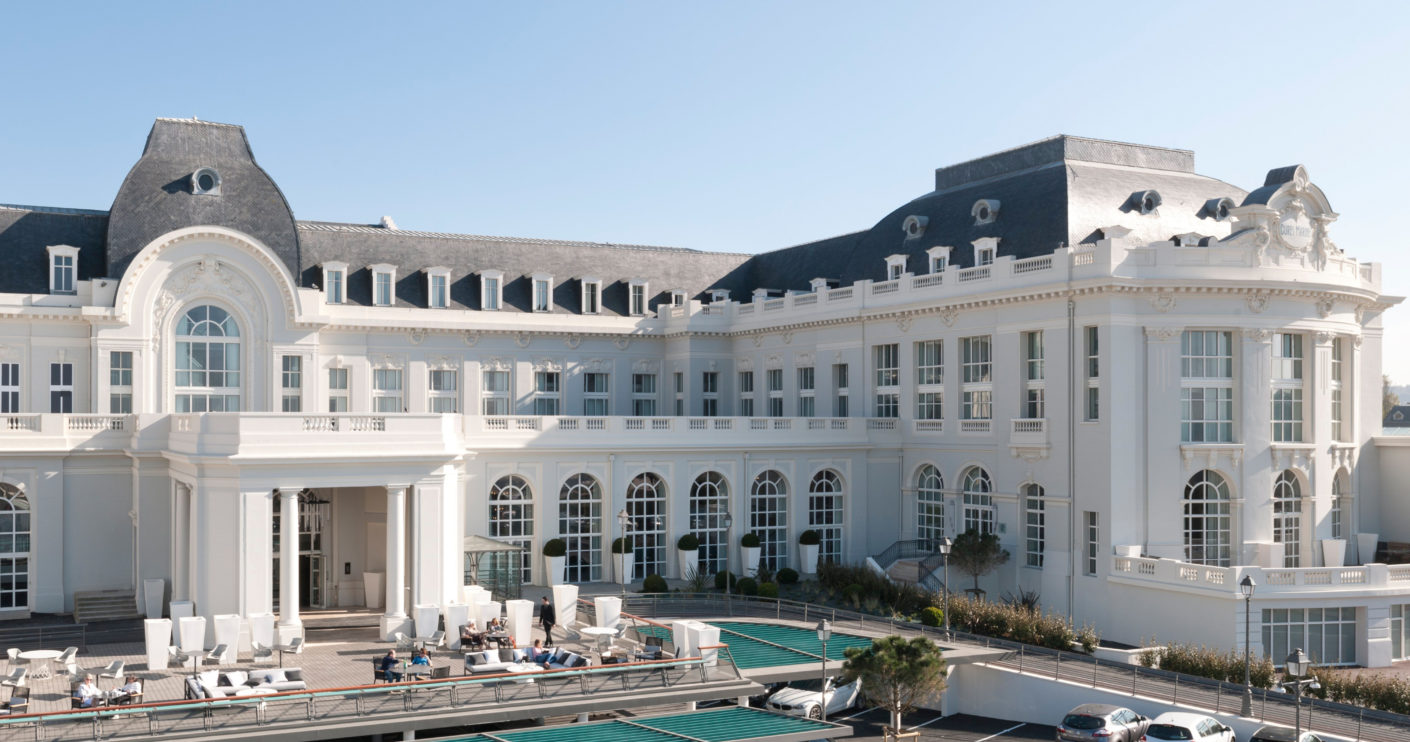 Gently Transformation: Architect and designer Jean-Philippe Nuel has transformed the neo-Classicist building into a 5-star hotel.