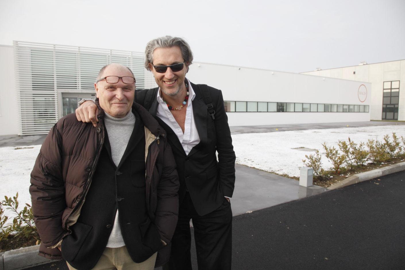 Eugenio Perazza und Marcel Wanders
