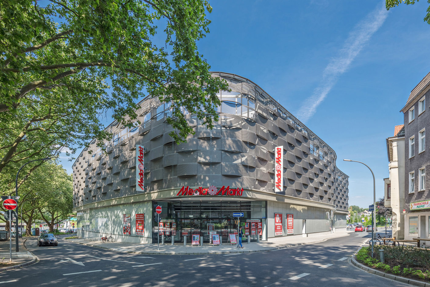 Photo gallery: Electronics market in Dortmund by Nattler Architects