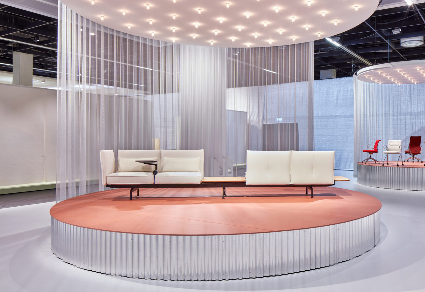 """The """"Soft Work"""" sofa system, designed by Barber & Osgerby for Vitra, is designed to allow relaxed working."""